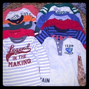 Carter's and Old Navy Tops